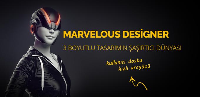 Marvelous Designer Eğitim Kitabı