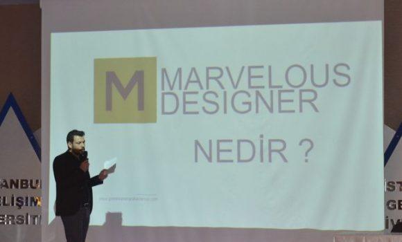 Gelişim Üniversitesi'nde Marvelous Designer 3D Moda ve Giysi Simülasyonu Semineri